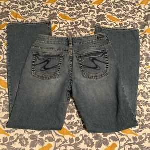 Silver Jeans Suki Medium Wash Jeans EUC Size 31